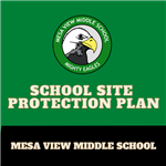 Logo for Mesa View's site protection plan